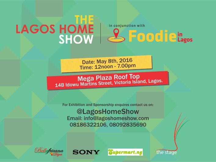 Lagos Home Show  Flyer