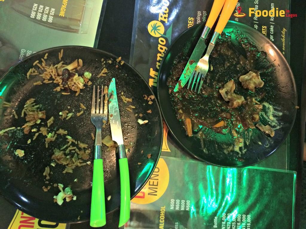 Jamaican Food in Lagos + Foodie in Lagos + Mango Room 1