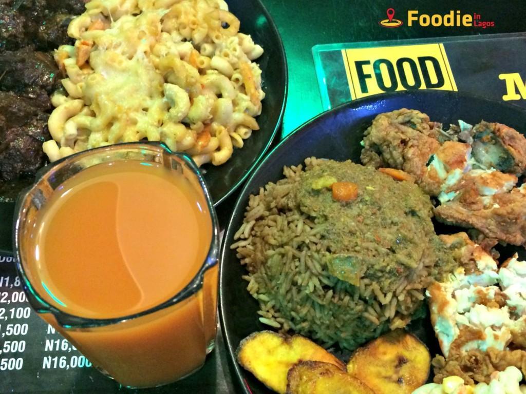 Jamaican Food in Lagos + Foodie in Lagos + Mango Room