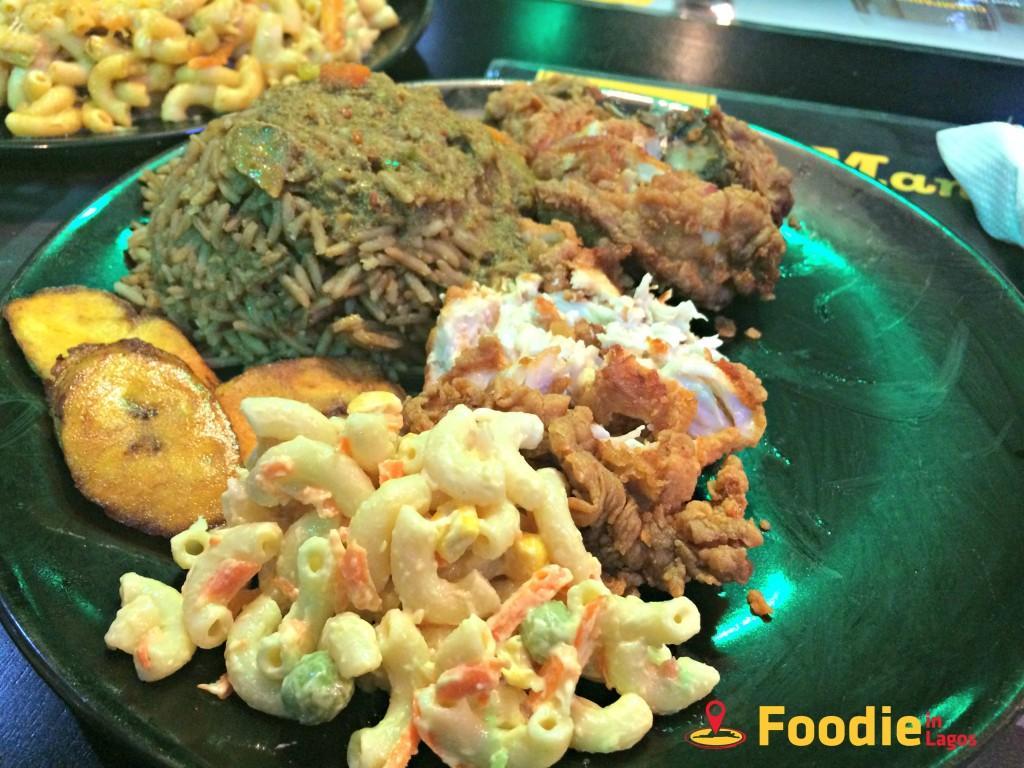 Jamaican Food in Lagos + Foodie in Lagos + Mango Room 3